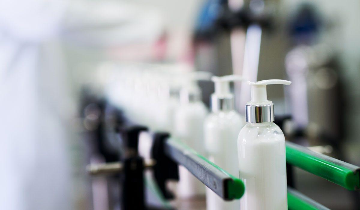 Verpackungsmaschinen Kosmetik-Branche