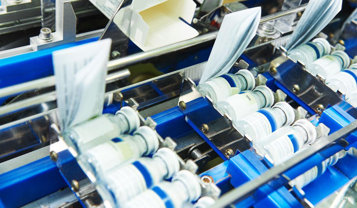 Verpackungsmaschinen für die Pharmaindustrie